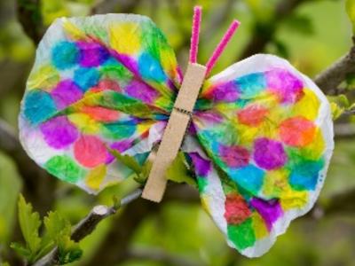 La farfallina fai da te
